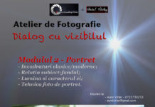 Portrait and Fashion photo classes with Aurel Virlan.