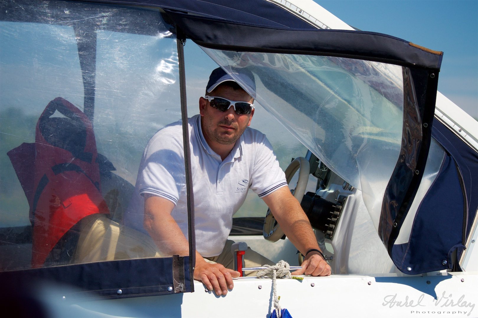 One of new touristic boat driver.