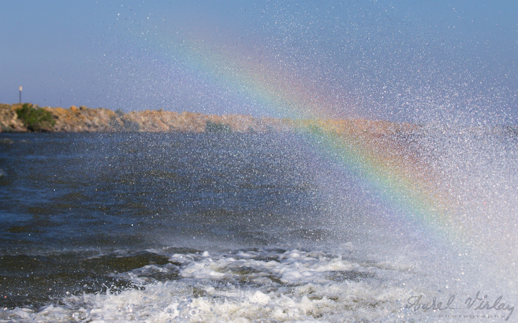 The rainbow that follows the teams of photographers at the workshop.