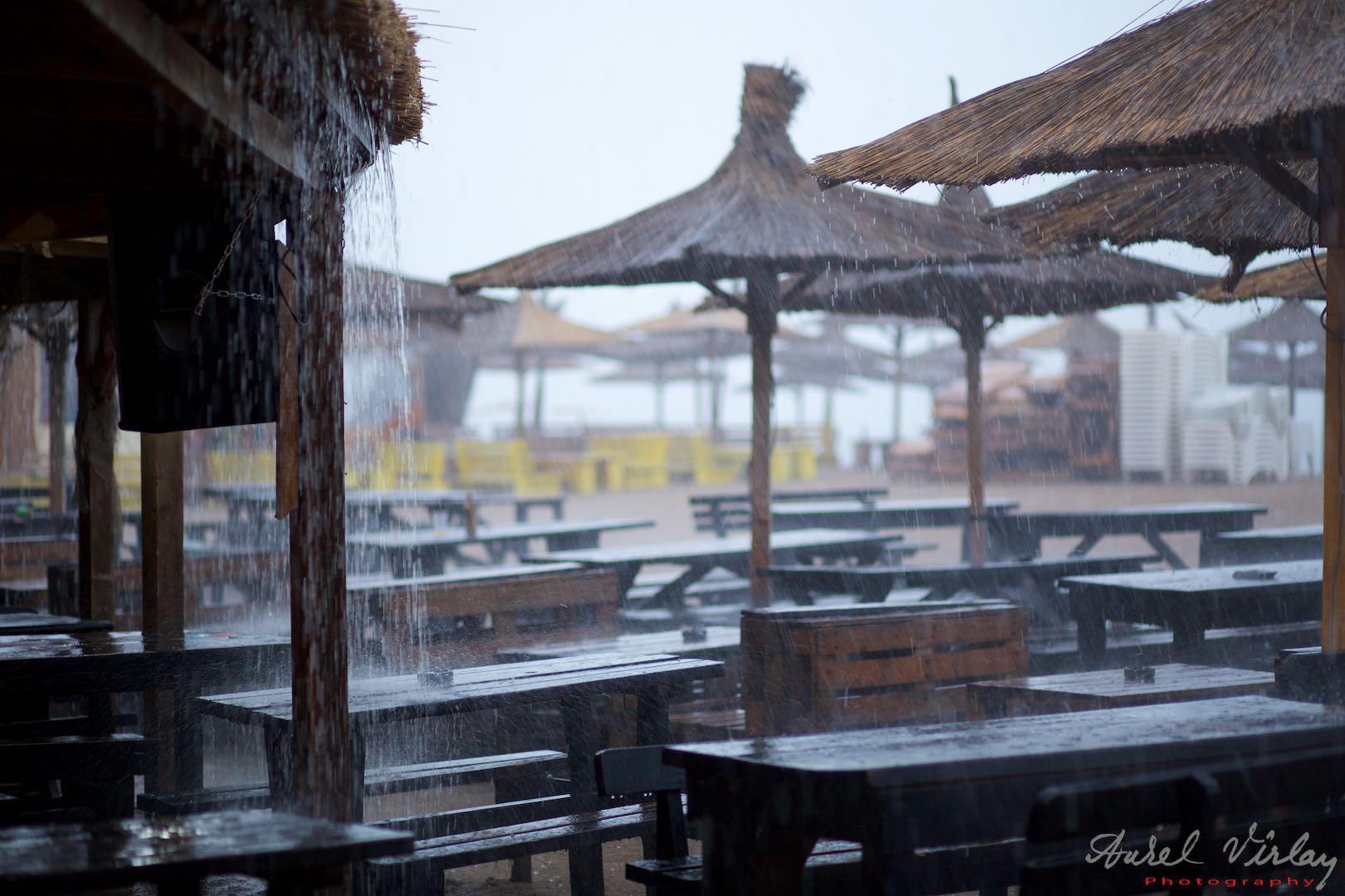 Rainy afternoon at Stuf bar.