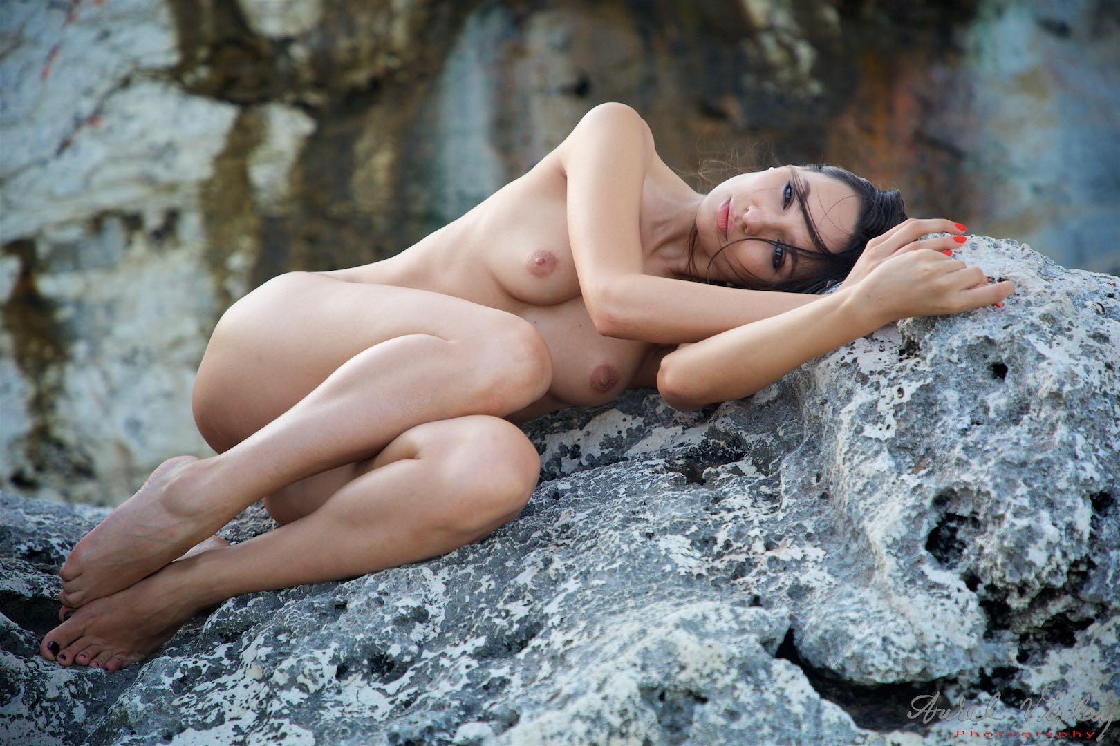 Mermaid relaxing.