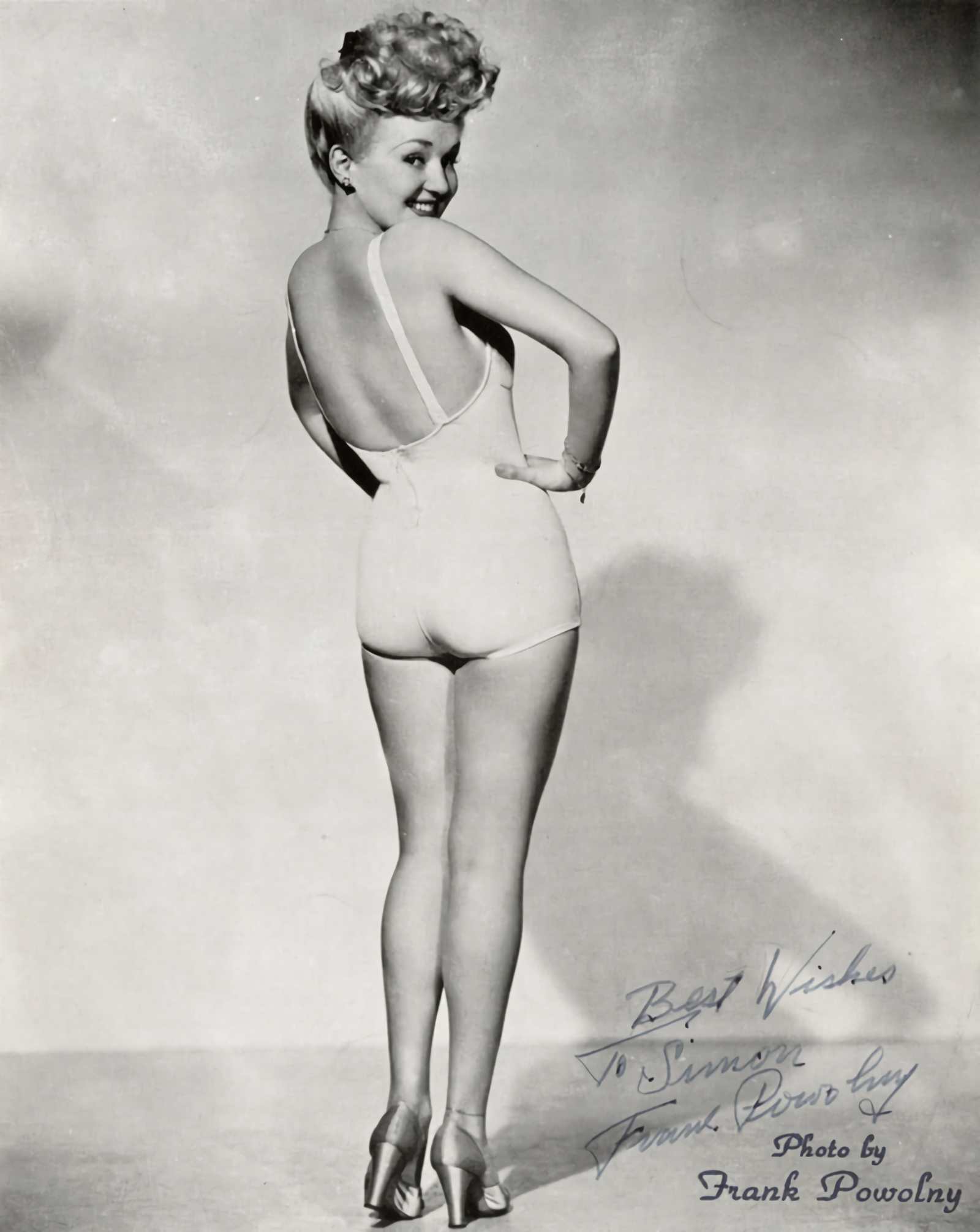 Betty Grable's famous Pin-up photograph